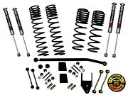 Suspension Lift Kit-long Travel Series With Shocks Fits 18-19 Jeep Wrangler