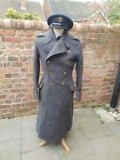Ww2 Era Royal Air Force Officer's Great Coat Raf Greatcoat Squadron Leader