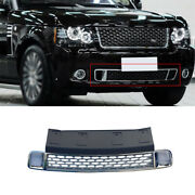 Blackandsilver Front Bumper Lower Grill Grille Mesh 1pcs For 2005-2012 Range Rover