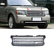 For 2005-2012 Range Rover Grayandsilver Front Upper Bumper Mesh Grill Grille 1pcs