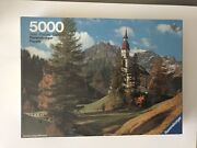 5000 Pieces Jigsaw Puzzle Ravensburger Obernberg On Brenner Sealed Andlsquo81 Very Rare