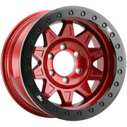4-dirty Life 9302 Roadkill Race 17x9 5x5 -38mm Candy Red Wheels Rims 17 Inch