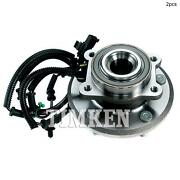 For Chrysler Town And Country Rear Set Of 2 Differential Bearing Set Timken