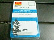 Micro-trains Stock 00102060 2006 Civil War Era Link And Pin Style Couplers N