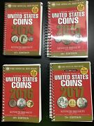 Lot Of 4.a Guide Book Of United States Coins. 2014 2015 2016 2017