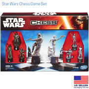 Star Wars Chess Game Set Movie Collectible Pieces Brand New