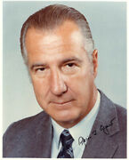 Spiro T. Agnew - Autographed Signed Photograph