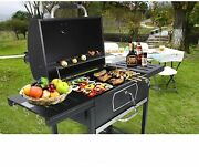 Royal Gourmet Cd2030an 30-inch Charcoal Grill Deluxe Bbq Smoker Picnic Patio