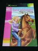 Barbie Wild Horse Rescue Original Xbox 2003 Authentic Manual/booklet Only Oem Vg