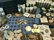 Tier 4 Huge Coin Sale Silver Gold Pennies Nickels Dimes 100+ Us Coins