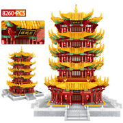 The Famous Tourist Yellow Crane Tower Attractions Building Blocks Education Toy