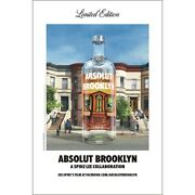 Absolut Brooklyn Poster 24 By 36 Inch
