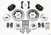 Wilwood Forged Dynalite Front Kit 11.00in Drilled 79-87 For Gm G Body 140-11009