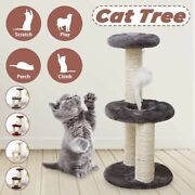 3 Layers Pet Cat Tree Condo House Scratcher Scratching Post Climbing Tree Toys