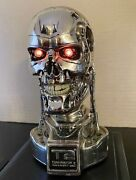 Styles On Video Terminator 2 T-800 Endoskeleton 14 Scale Bust