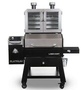 Pit Boss Platinum Lockhart Wifi And Bluetooth Wood Pellet Grill And Smoker