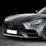 Chrome Gt Panamericana Grille For Mercedes Benz R190 C190 Amg Gt 2 Door 2015-16
