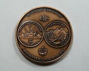 1971 Canada 18th. Annual Cna Coin Convention Medallion Vancouver B.c Nice Bu