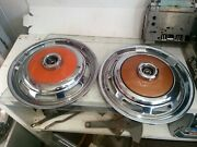 Fits 71-74 Ford Pinto 13 Chrome Wheel Cover Hubcap Set