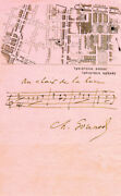 Charles Gounod - Autograph Musical Quotation Signed