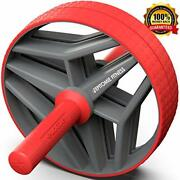 Bio Core Ab Roller Wheel With 2 Configurable Wheels And Non-slip Handles