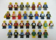 Lot Of 25+ Lego Minifigures Minifigs Castle Knights Fantasy +accessories
