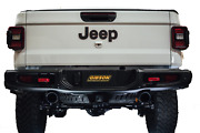 Gibson 2020 For Jeep Gladiator Jt Rubicon 3.6l 3in/2.5in Cat-back Dual Split Exh