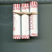 2019 D Lincoln Head Penny 5 Bank Roll Paper Wrapped Lot 2998p