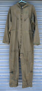 Flyers Coveralls 46l Cwu-27/9 Mil-c-83141a Used