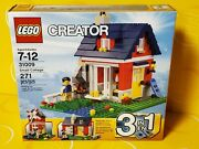 New Lego Creator 31009 Small Cottage 3 In 1 Set W/ 271pcs- Retired 2013