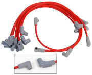 Custom Spark Plug Wire Set 8.5mm Red Custom Fit Oem Wires 90 Degree Boots