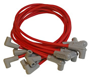 Custom Spark Plug Wire Set 8.5mm Red W/hei 90 Degree Boots 31839