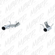 Mbrp 2011-2014 For Ford Mustang Gt 3in Dual Axle Back Muffler Delete - T304 S72