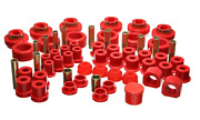 Energy Suspension 81-87 For Chevy/ For Gmc 4wd W/ Aftermarket Frt Springs Red