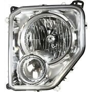 Headlight For 2008-12 Jeep Liberty Sport Limited 2012 Liberty Jet Left With Bulb