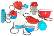 Tupperware Mixed Lot Of 10 Keychains Some Rare Fun Sized Mini Gadgets New Lot G1