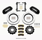 Wilwood Tx6r Front Kit 15.50in Black 2010-up For Ford For F150 6 Lug 140-1386