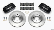 Wilwood Dpha Front Caliper And Rotor Kit For Honda / For Acura W/ 262mm Oe Rotor