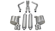 Corsa 11-13 For Dodge Charger R/t 5.7l V8 Polished Xtreme Cat-back Exhaust 1452