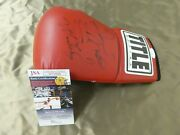 Floyd Mayweather Jr And Shane Mosley Signed Boxing Glove With Jsa Coa