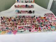 Huge Lot 150+ Lol Surprise Dolls - Lil Sisters - Pets - And Tons Of Accessories