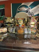 Shining Fates Sealed Lot - 5 Elite Trainer Boxes Collections Tins - 112 Packs