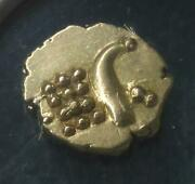 1795-1850 Ngc Au 58 Kingdom Of Cochin Gold India Fanam Gold Indian Coin