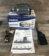 Panasonic Pv-gs320 Mini Dv Digital Camcorder Tested W/box New Battery/charger