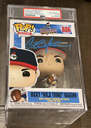 Charlie Sheen Signed Wild Thing Major League Funko Pop Psa/dna Encased Authentic