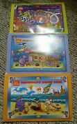 3 Out Of 4 Rare Puzzles From Mcdonalds Happy Meals