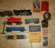 American Flyer Reading Locomotive Engine And Tender 634 Searchlight Lionel Lot