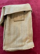 Wwi Us Army Pedersen Device Magazine Pouch - Marked Ria 1919 - Mint Unissued