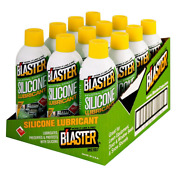 Blaster 11 Oz. Industrial Strength Silicone Lubricant Long Lasting Case Of 12