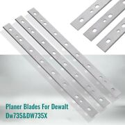 3x Replacement Hss Planer Blade Planing For Planer Router Machines Woodworking